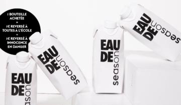 EAU DE SEASON, la bouteille d'eau engagée