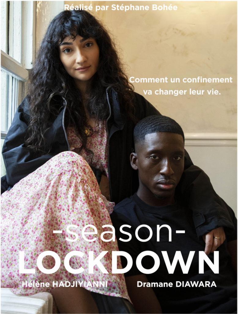 Affiche de notre Série Season Lockdown tournée à Season Martyrs.