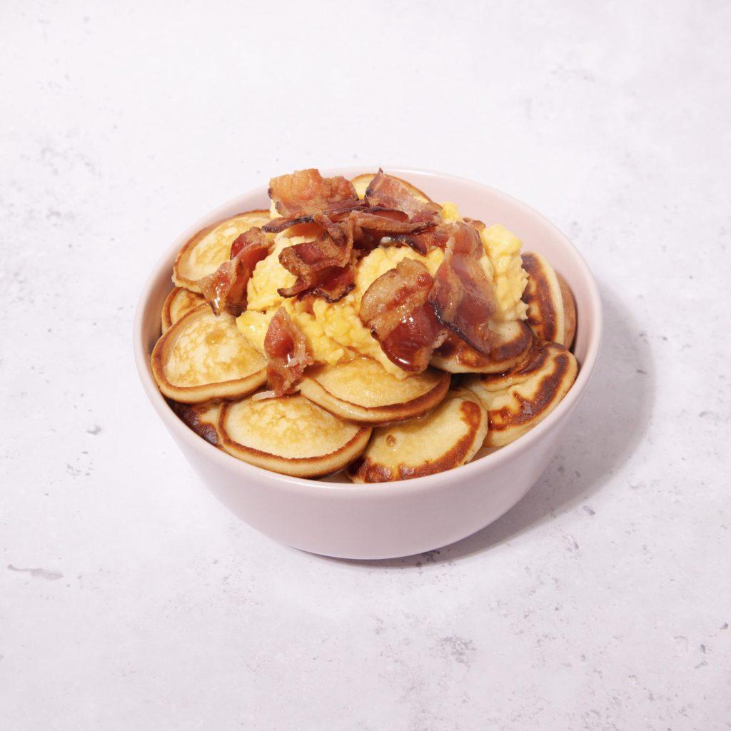poffer egg & bacon